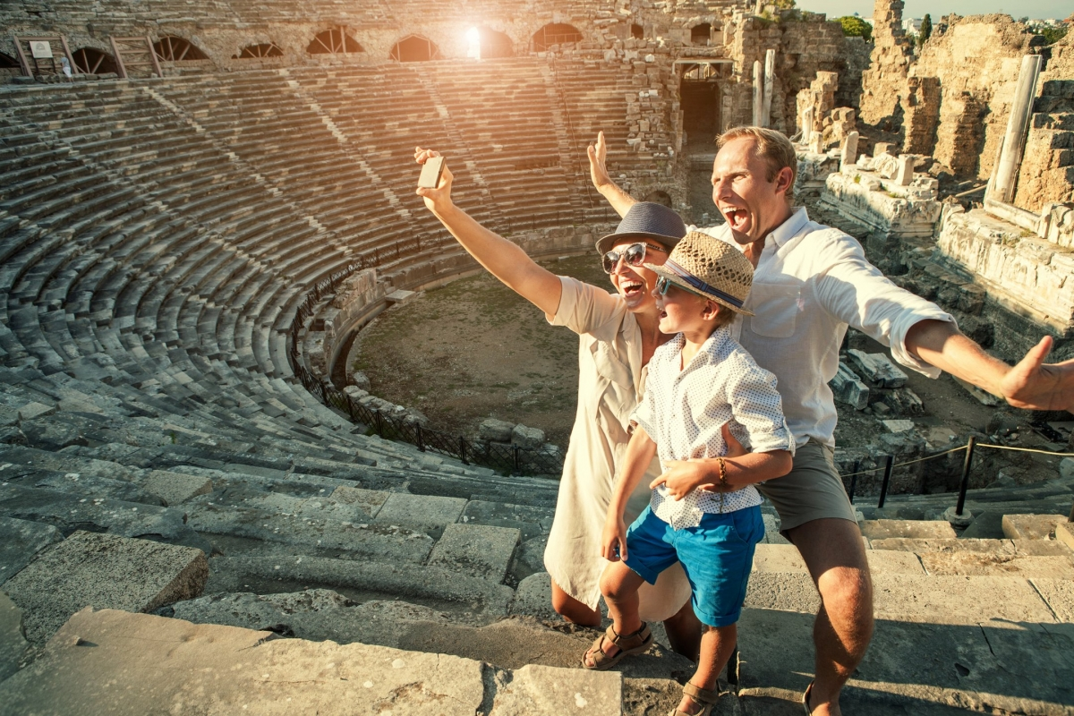 Escorted tour packages